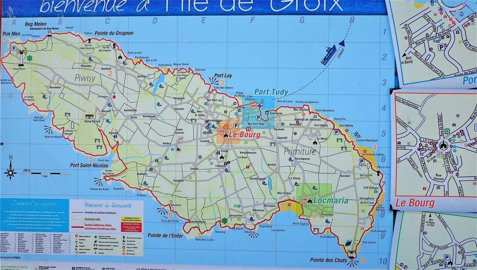 A Groix avec le Centre Nautique de Plouhinec (1/2)