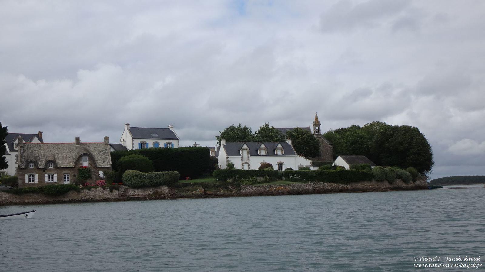 Saint-Cado - Nostang : la Ria d'Etel Nord
