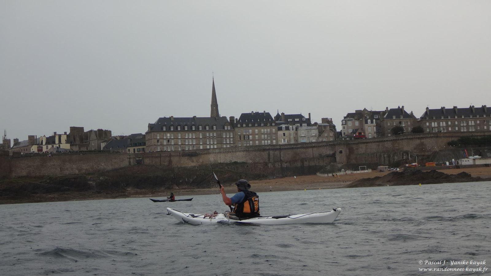 Randonnées malouines : sous l'orage, autour de Saint-Malo (1/4)