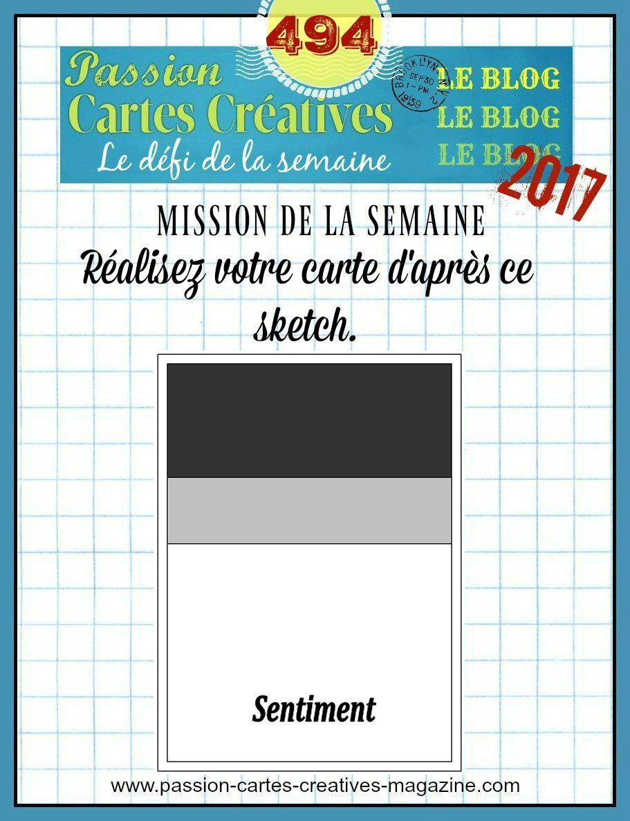Défi 494 de Passion Cartes Cratives