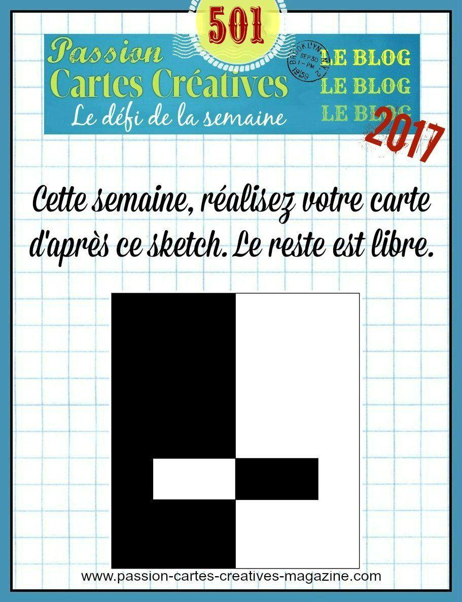 Défi 501 de Passion Cartes Créatives