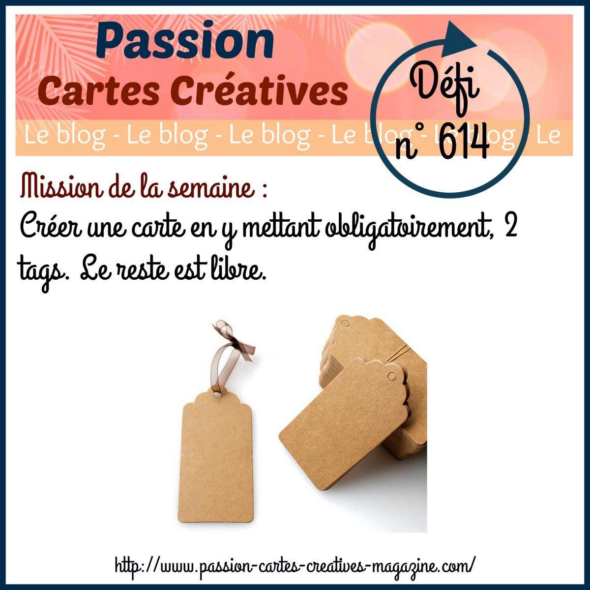 Défi 614 de Passion Cartes Créatives