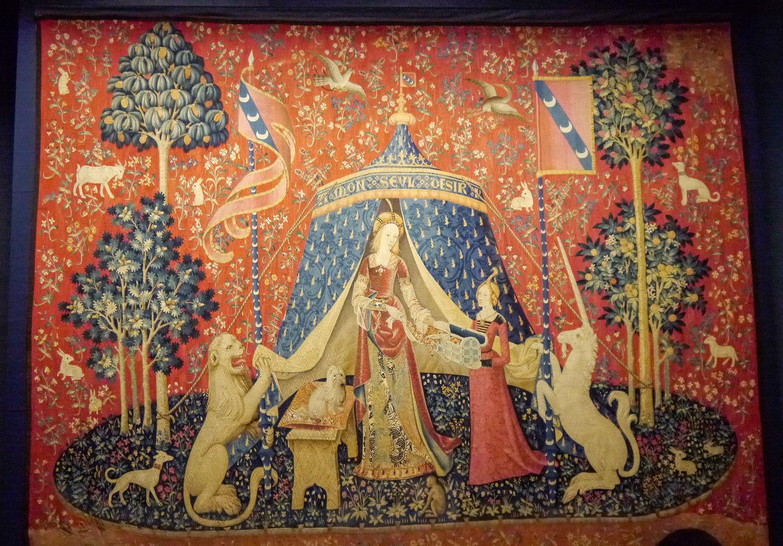 Les Magiques Licornes envahissent le musée de Cluny jusqu'au 25 février 2019
