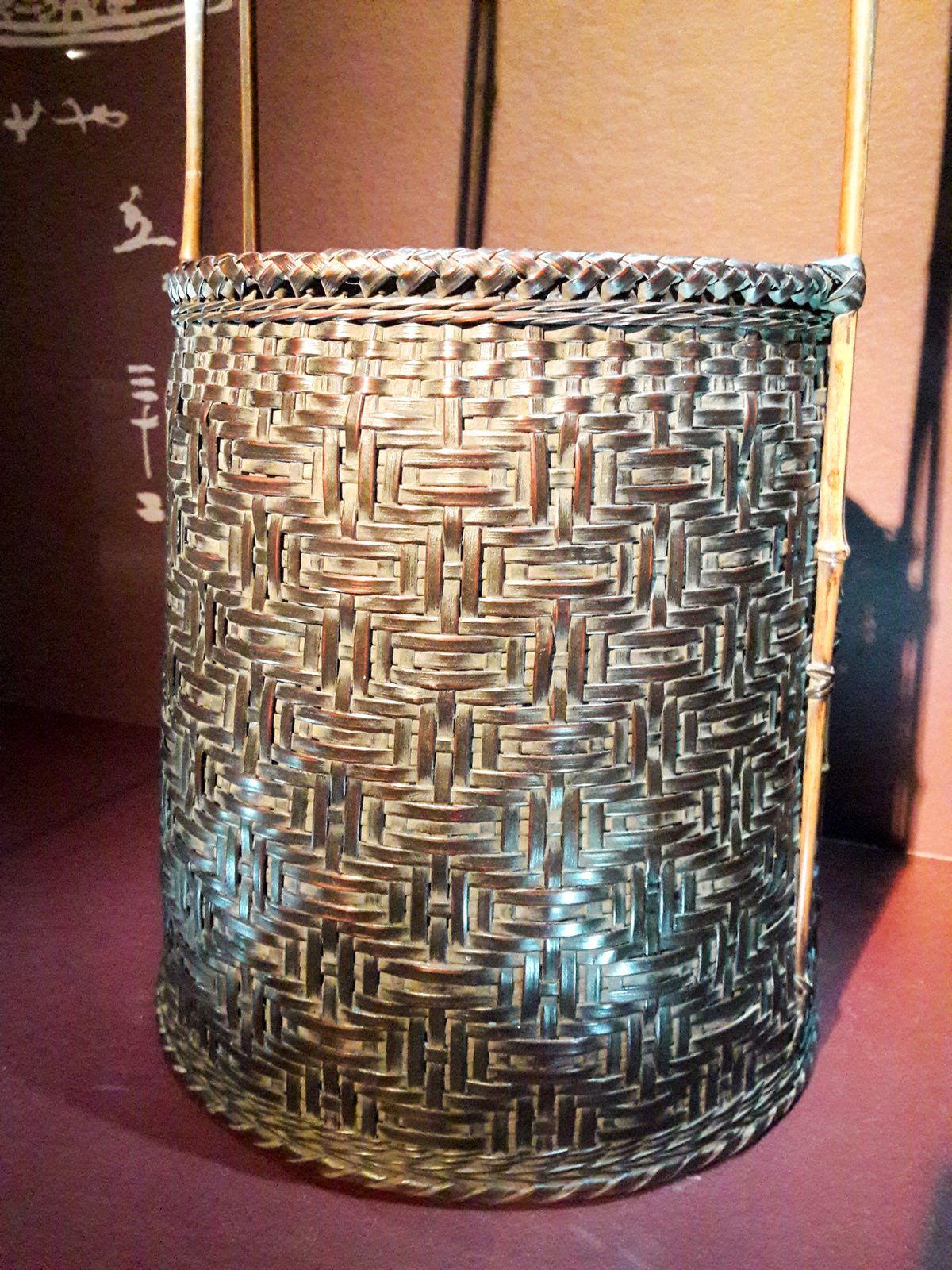 Fendre l'air : l'art de la vannerie en bambou au Japon à découvrir au musée du Quai Branly jusqu'au 7 avril 2019