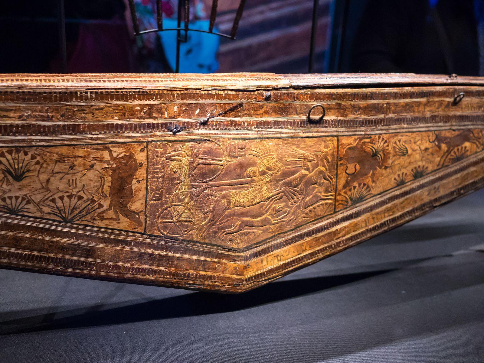 Toutankhamon : splendeurs pharaoniques à découvrir à la Grande Halle de La Villette Jusqu'au 15 septembre 2019