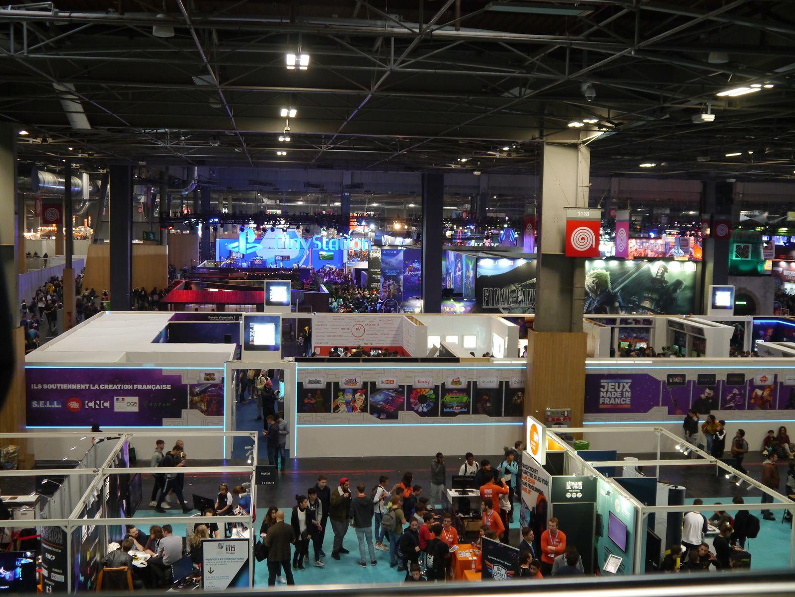 Paris Games Week 2019 : nouvelles perspectives du jeu vidéo