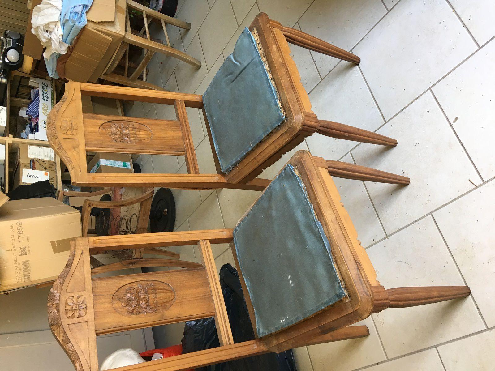 les dernières restaurations de sièges