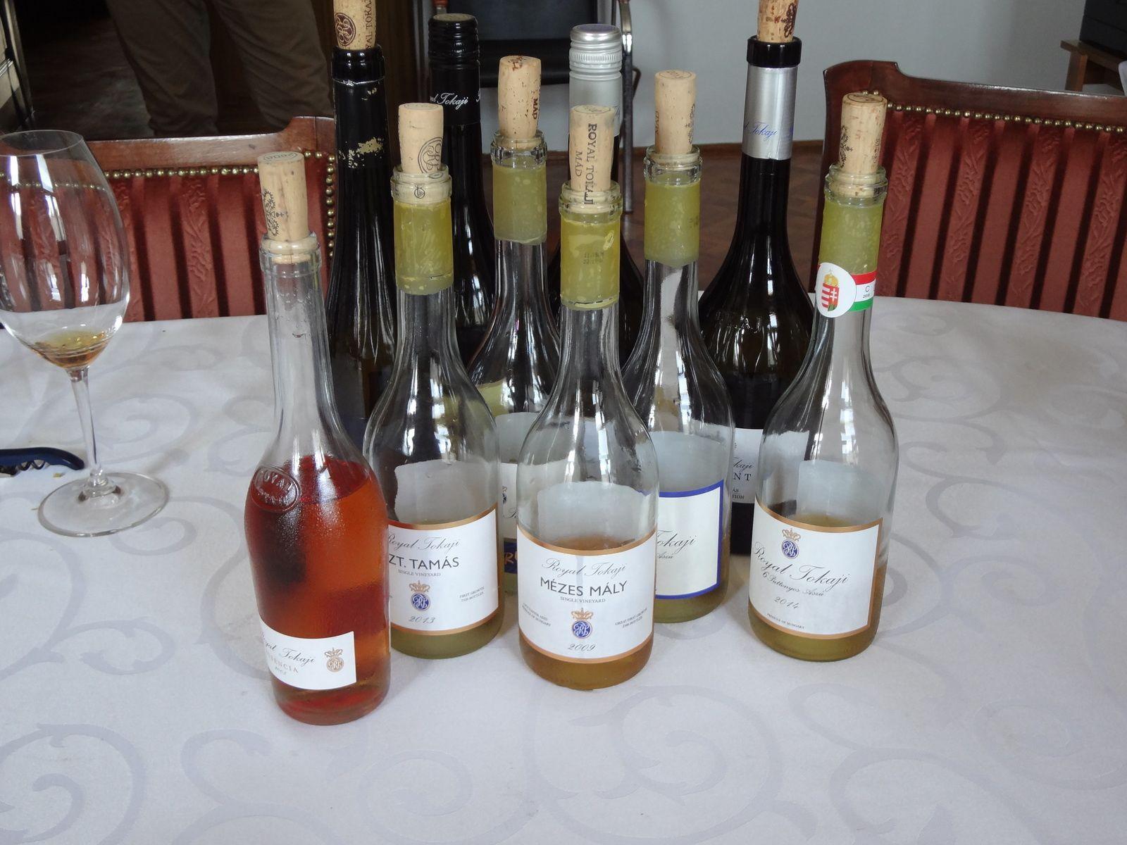 Hongrie Visite et dégustation chez Royal Tokaji - 2019