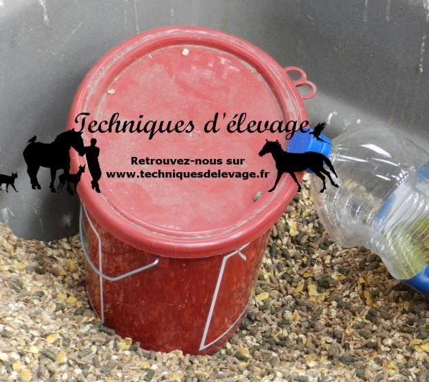 Floconnés et granulés. Techniques d'élevage. Tous droits réservés