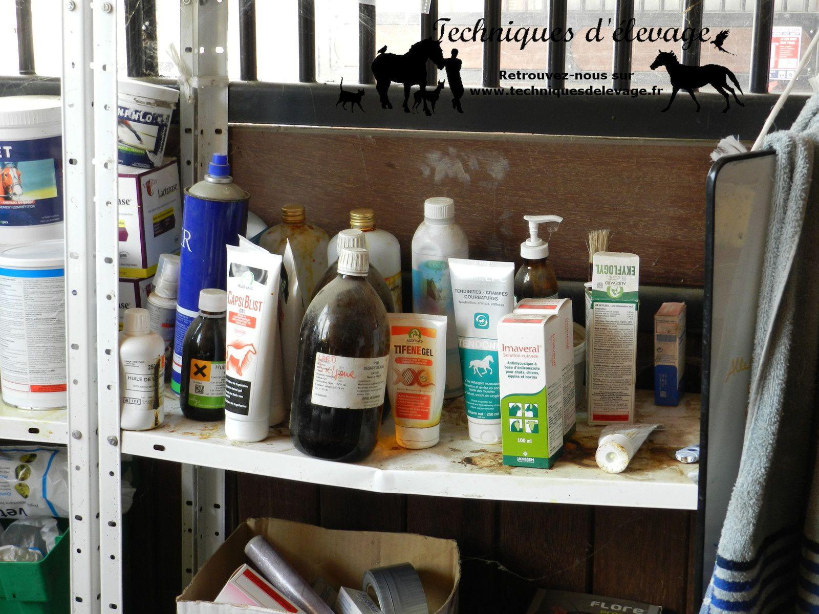 Pharmacie. Techniques d'élevage. Tous droits réservés