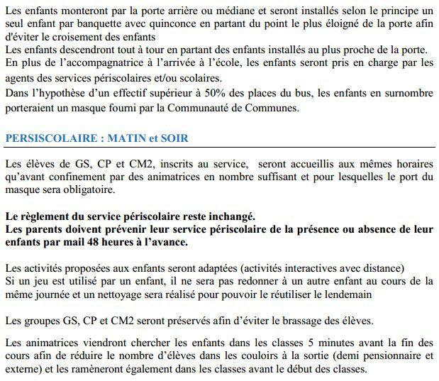 Réouverture des services périscolaires (2)