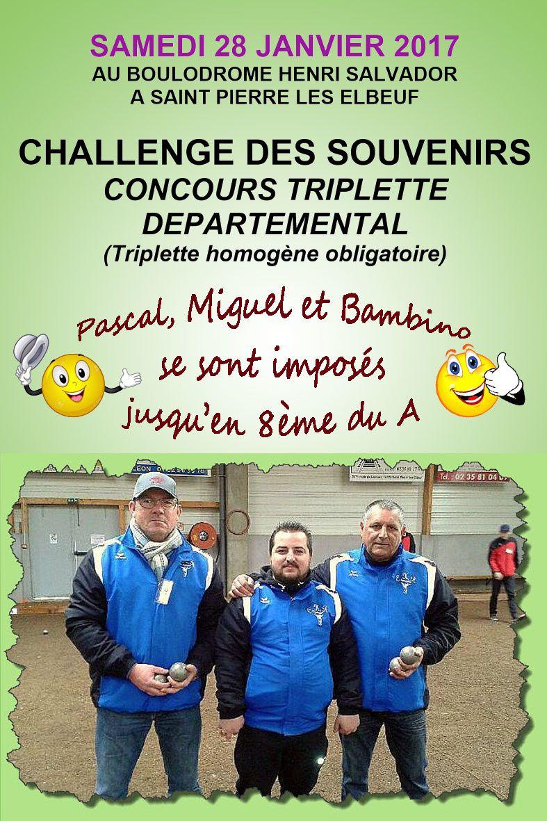 Challenge des souvenirs à St Pierre