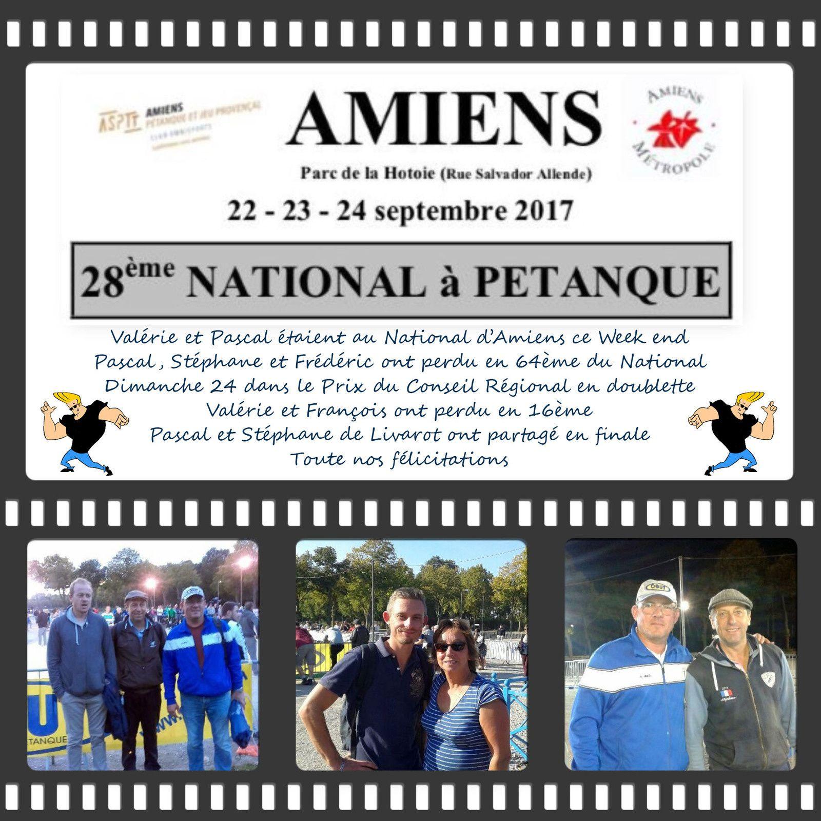 Le CHR au National d'Amiens les 23 et 24 septembre