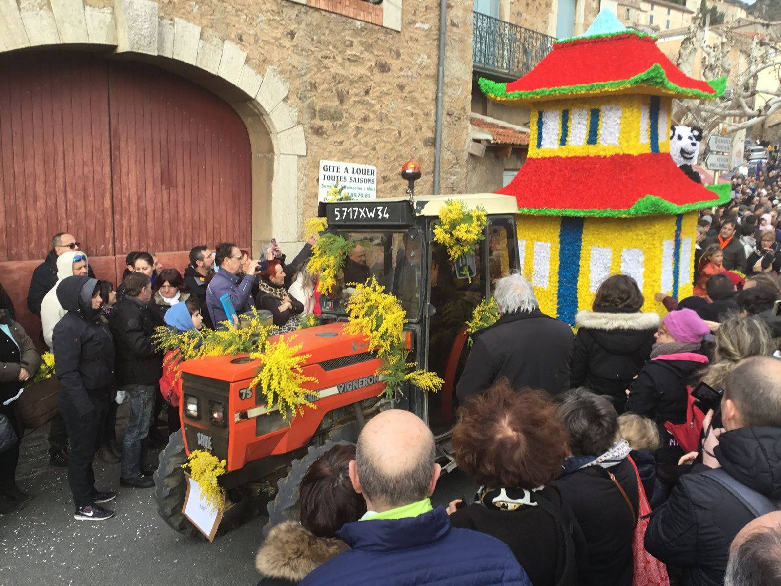 180211 - Carnaval Mimosa Roquebrun