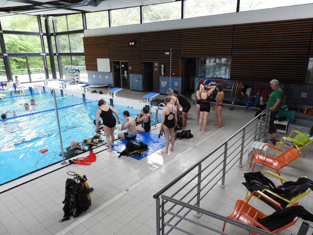 Kemperl activit s subaquatiques club associatif de for Piscine quimperle