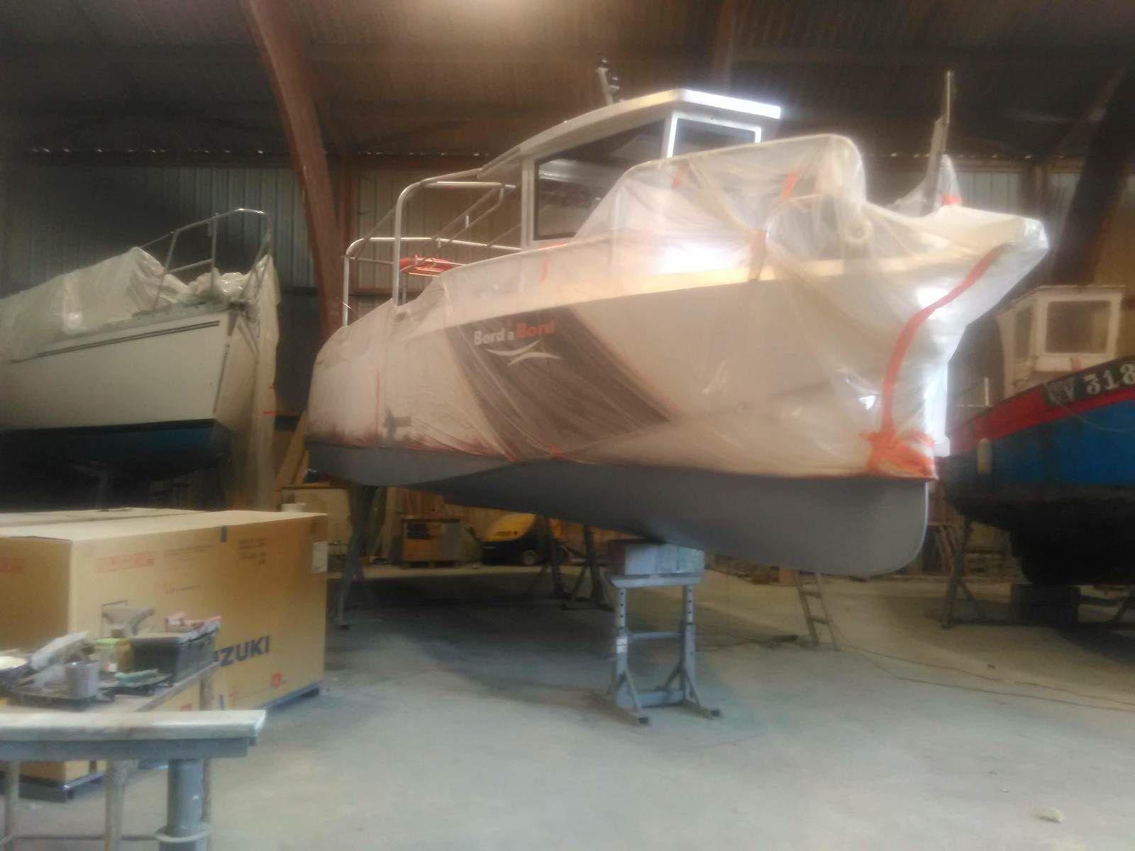 Le futur bateau !