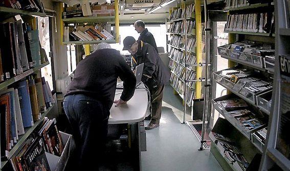 Villeverte, Média Bus, bibliothèque, médiathèque, lecture, culture, cd, dvd, Nîmes