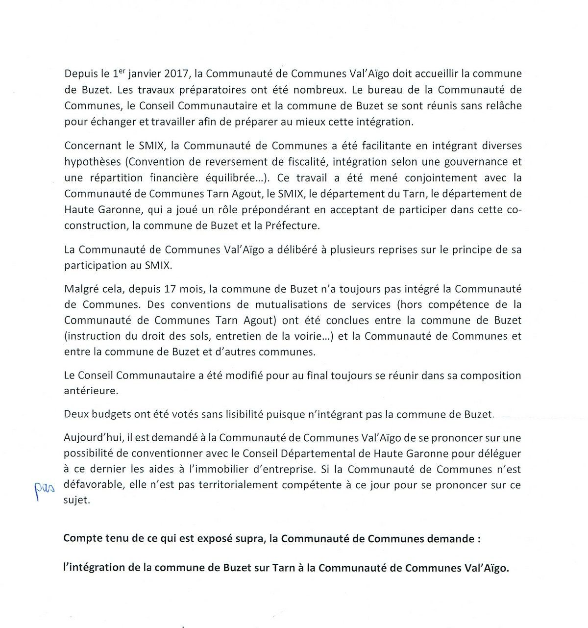 Conseil Communautaire du 2 Mai 2018: