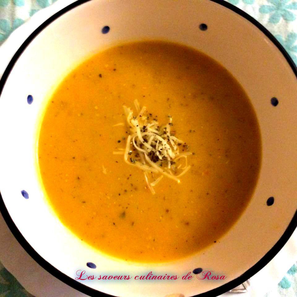 Soupe aux six légumes