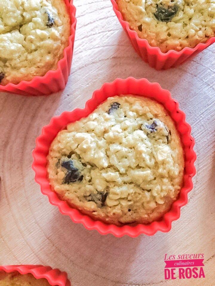 Muffins healthy sans beurre et sans sucre