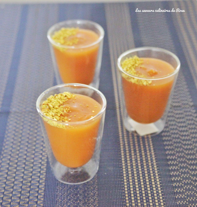 Palouza kamar eddine (à la pâte d'abricot)