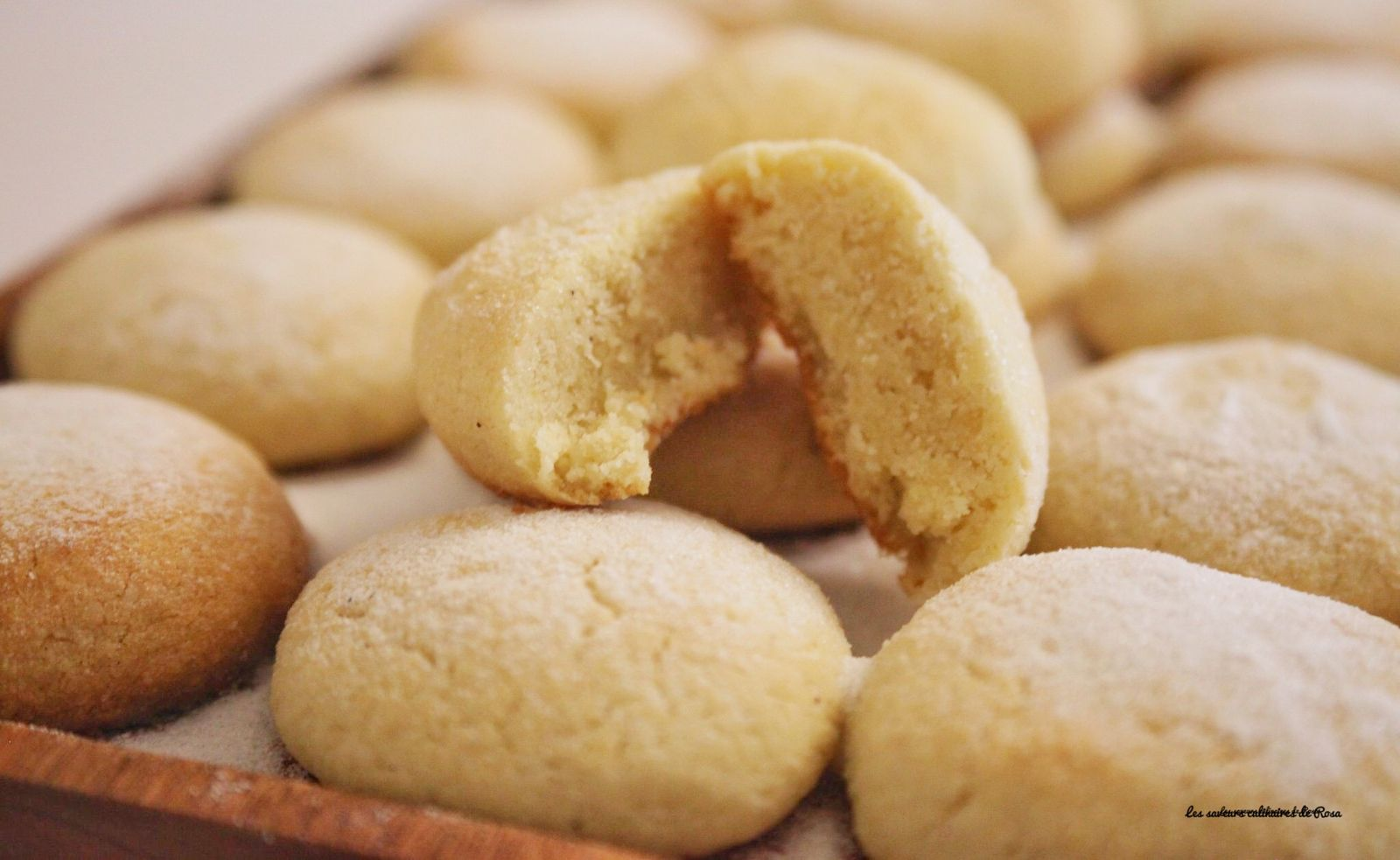 "Helenettes ""biscuits moelleux aux amandes"