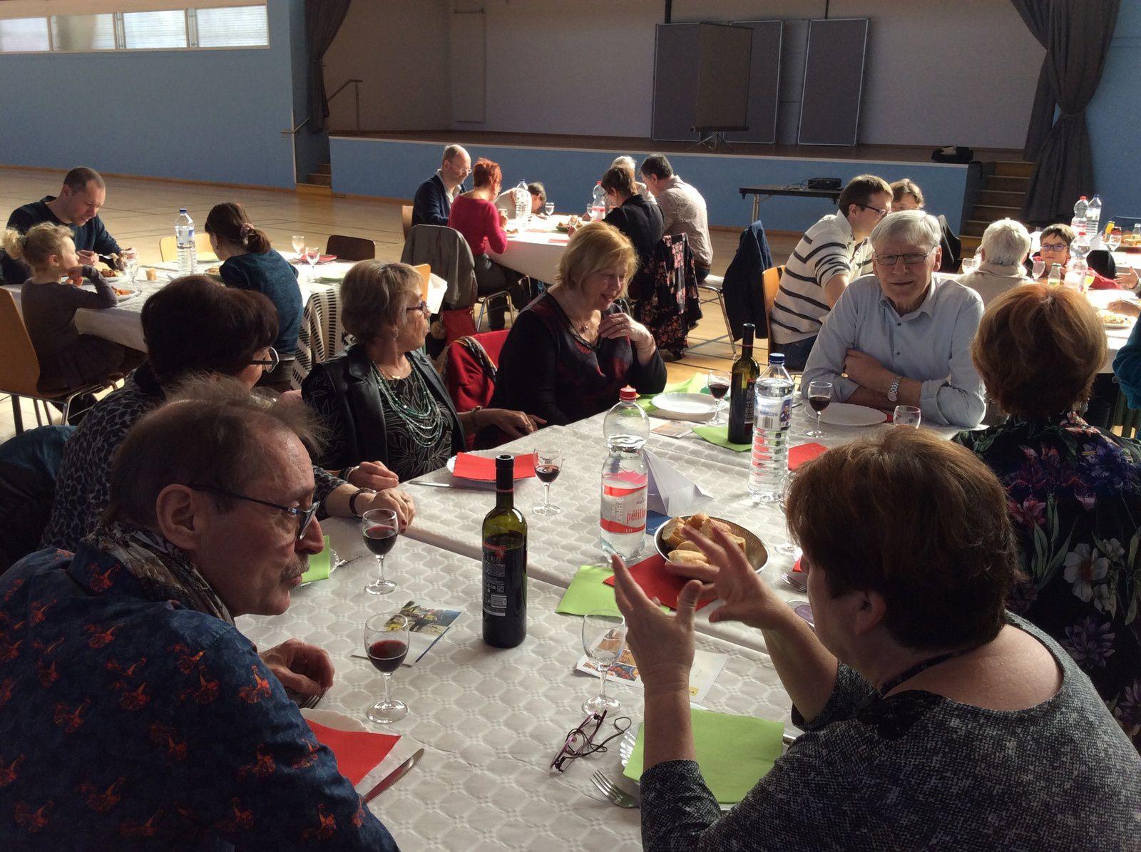Déjeuner syrien à Guénange, 24 février