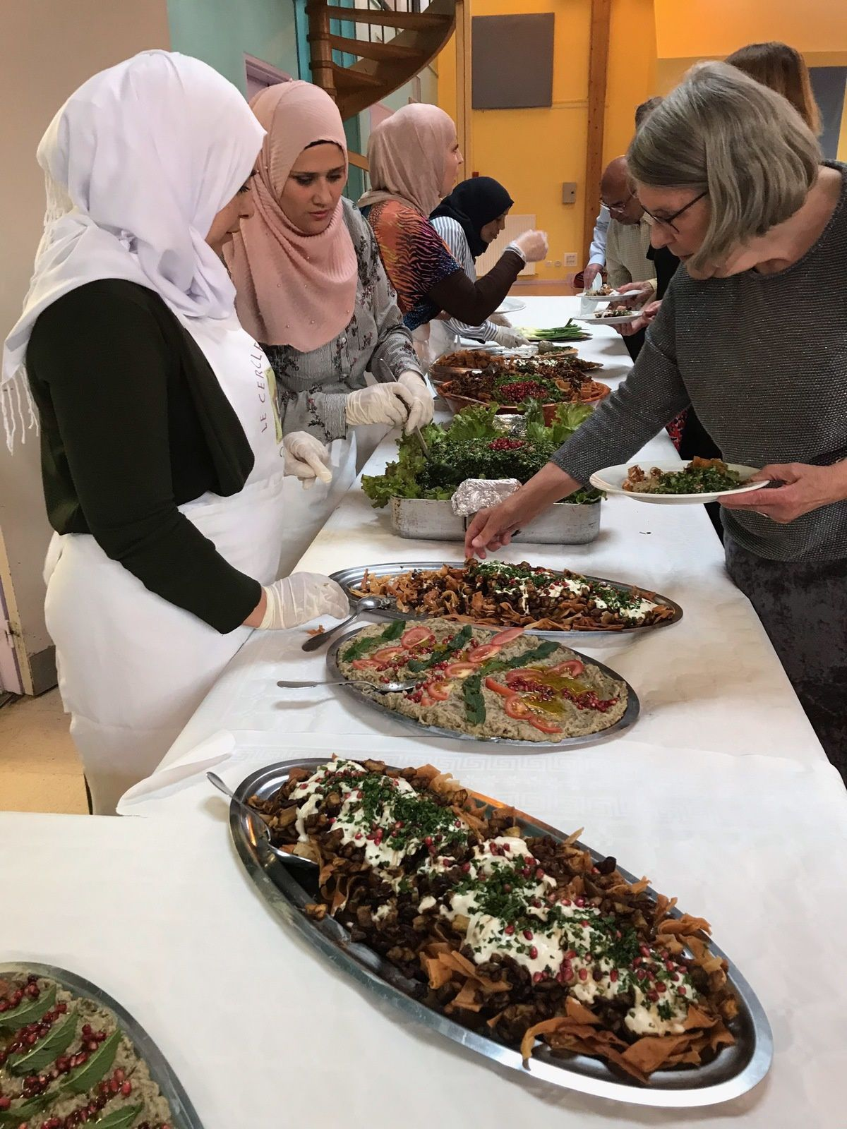 Anniversaire de la Charte d'Amitié Metz-Alep : le dîner syrien