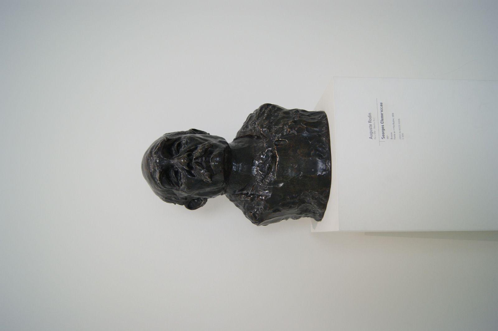 Auguste Rodin Paris 1840 / George Clemenceau 1911 Bronze / Fonte au sable Rudier 1959 / Dépôt Musée Rodin