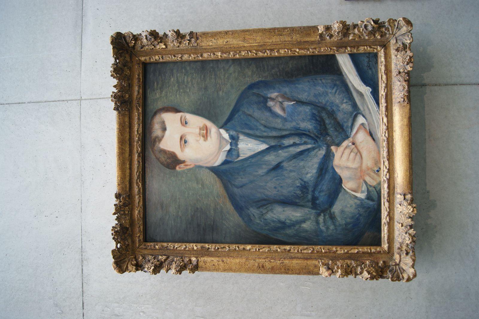 Portrait de Paul Guillaume 1919 / Huile sur toile / Acquis en 1959 avec le concours de la société des amis du Louvre