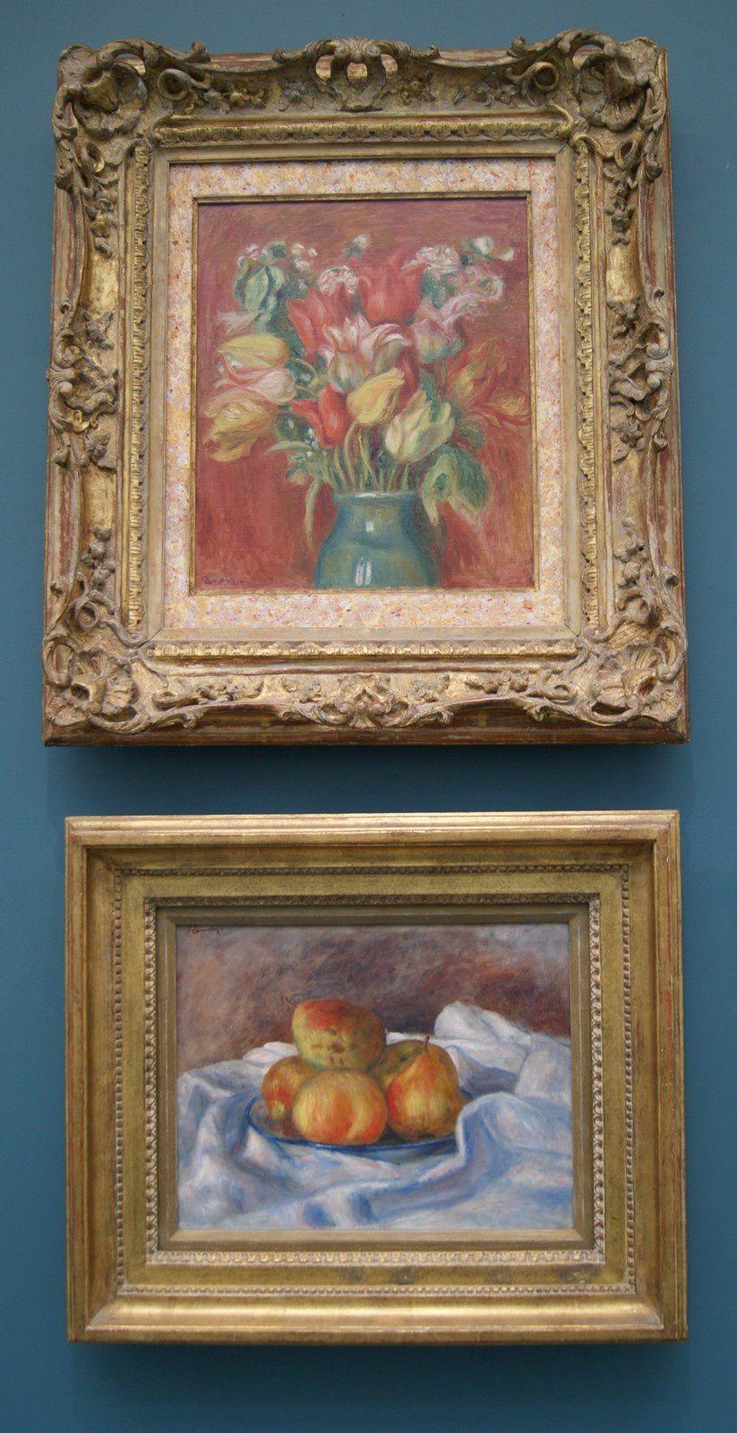 """"""" Bouquet de tulipes"""" Vers 1905 - 1910 / Huile sur toile"""