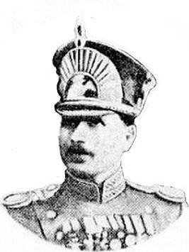 Mouraviev, officier de l'armée du tsar