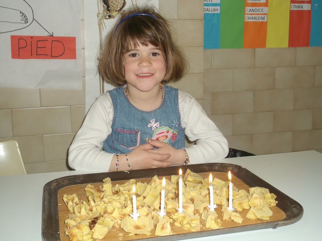 Zélie a eu 5 ans.