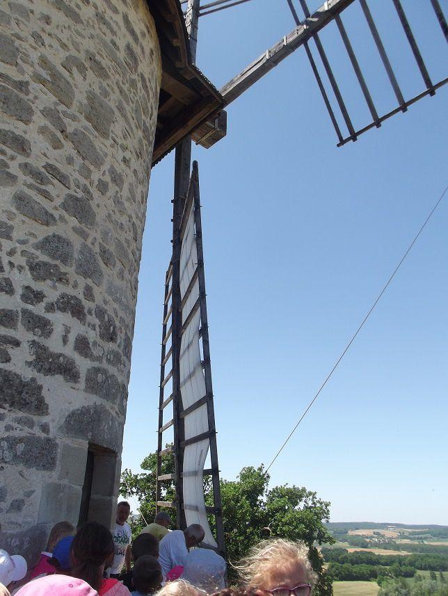 Le vent et les CP/CE1 de Saint Pierre