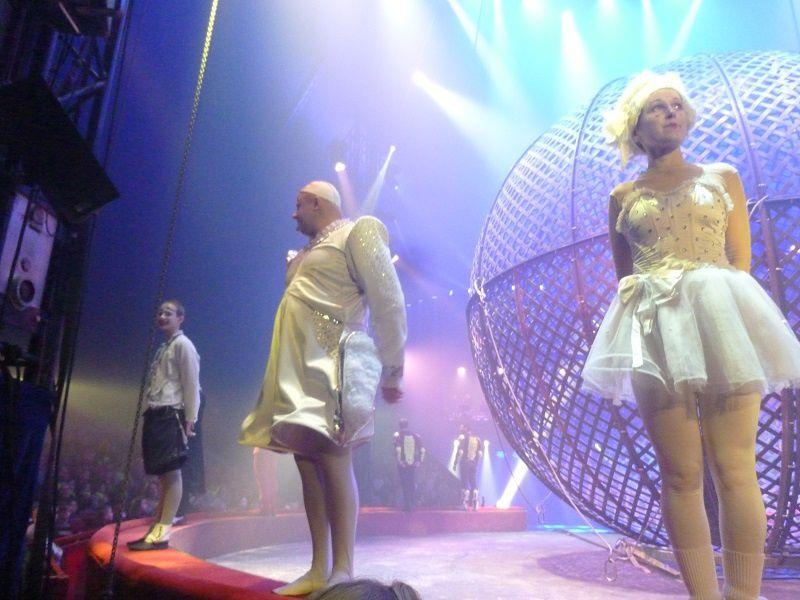 Les CP au cirque...