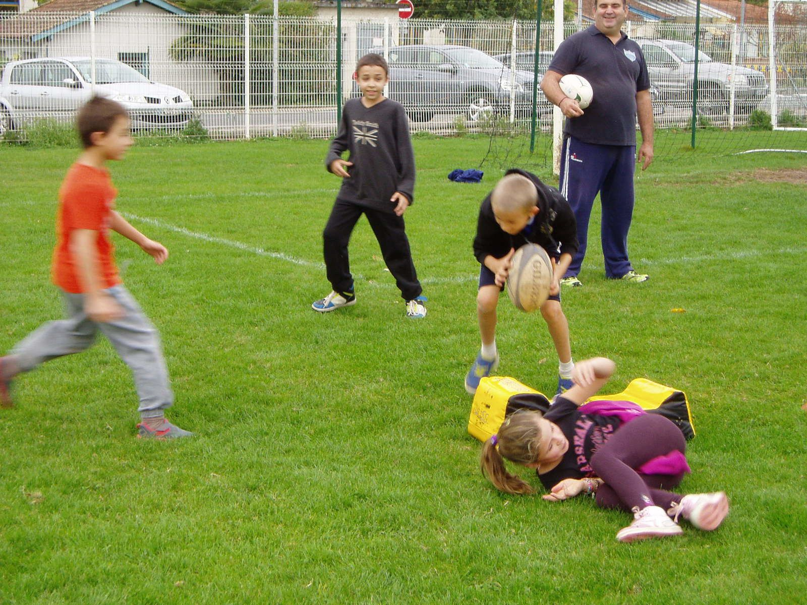 Initiation rugby CM2 (suite)