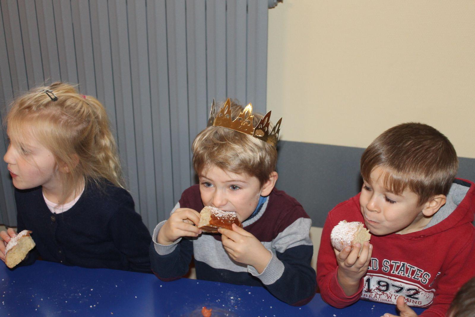Les Rois en Maternelle