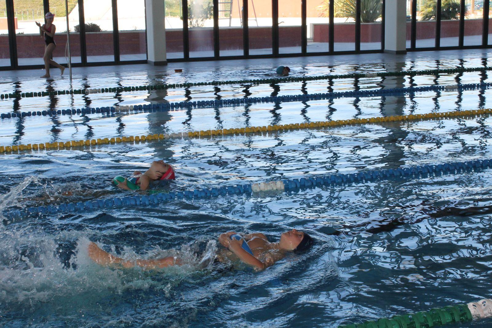 Dernière séance de piscine pour les CE2