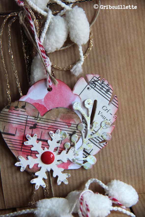 Défi Scrap&Co_Etiquettes cadeaux de Fêtes