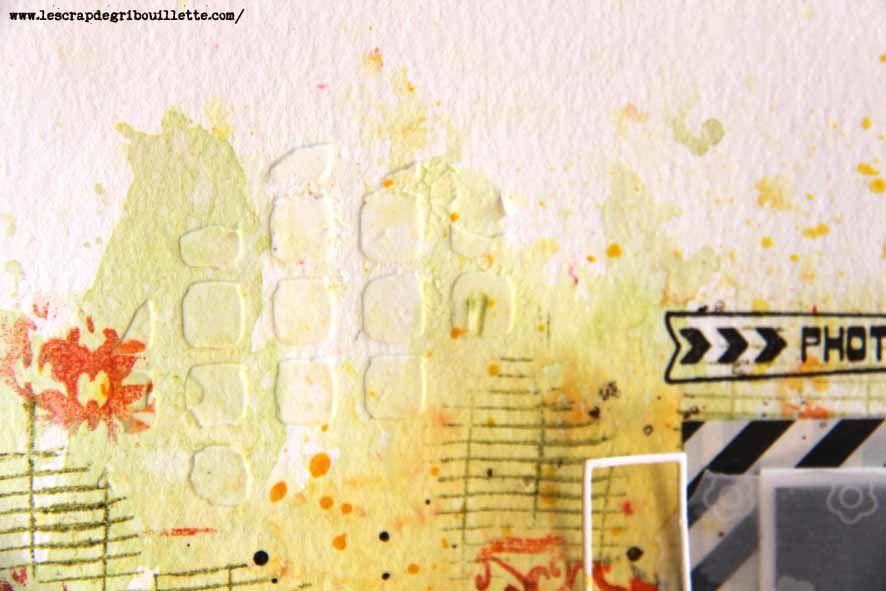 Page Scrapbooking#Mon moment préféré en image#Détails#Sketch#Scrap&Co