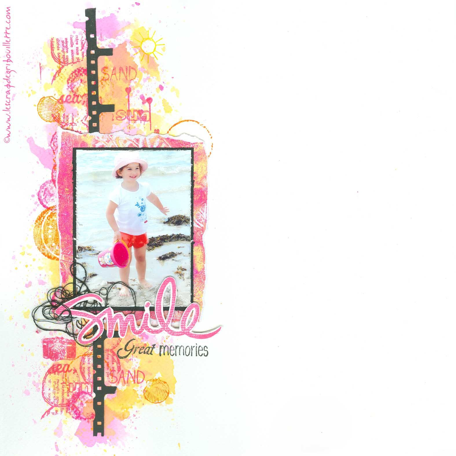 "Page ""Smile""_Challenge InfinimentScrapDesign"