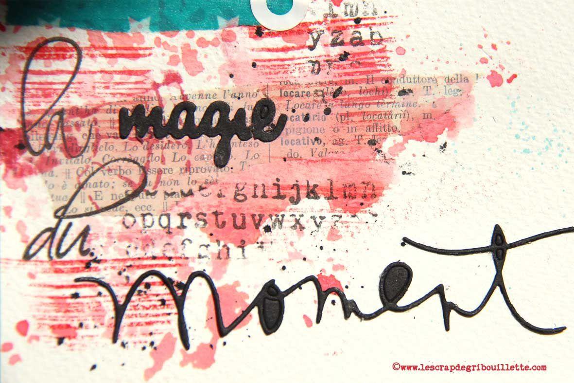La magie du moment_DT Scrap&Co_Challenge Sketch_Tutoriel