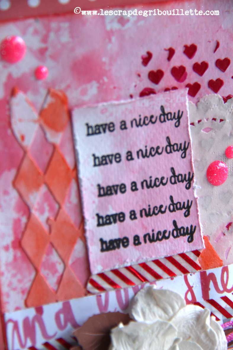 "Carte ""Have a nice day"""