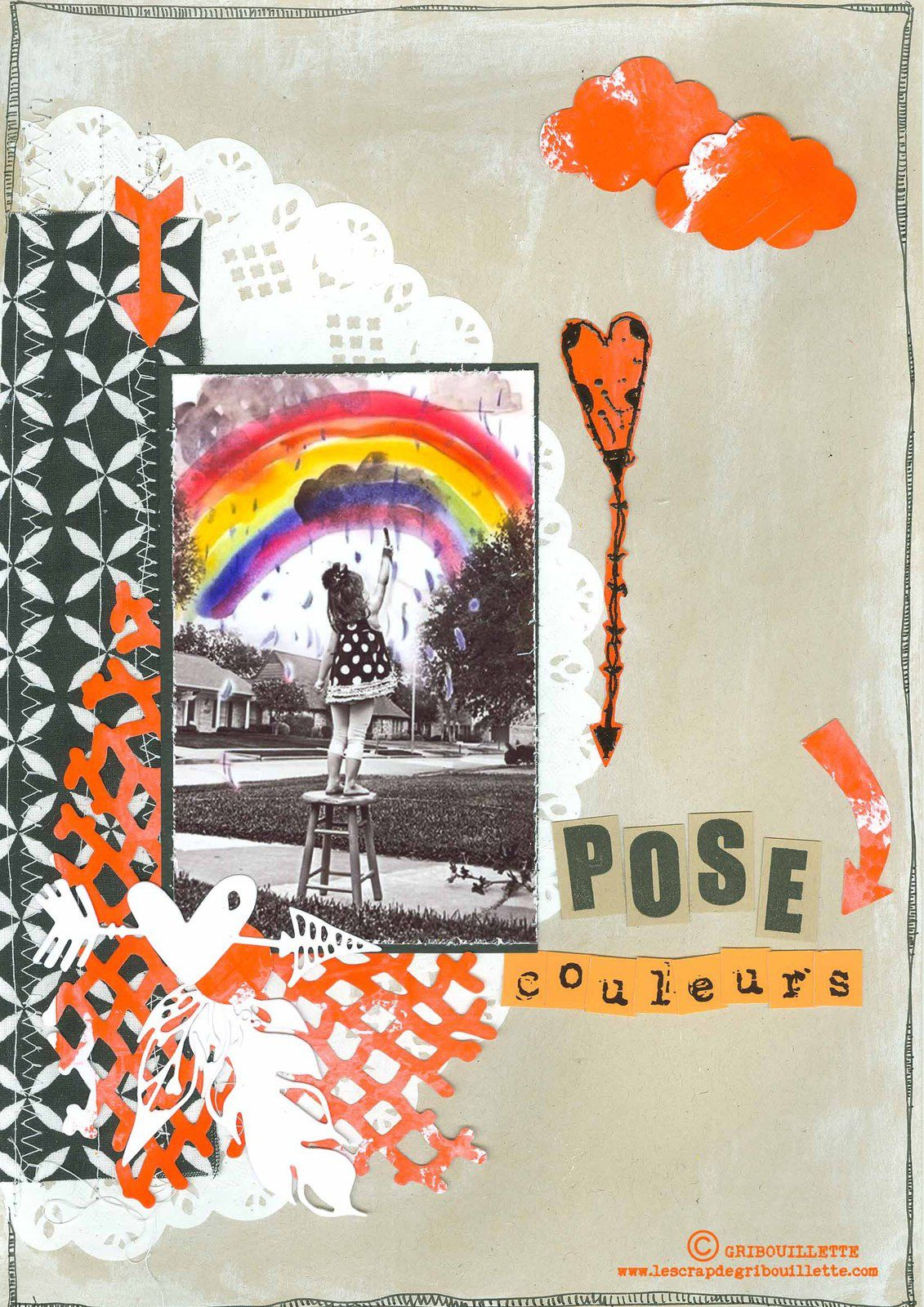 "Pose ""Couleurs""_Scrapbooking Day_Give your Scrap"