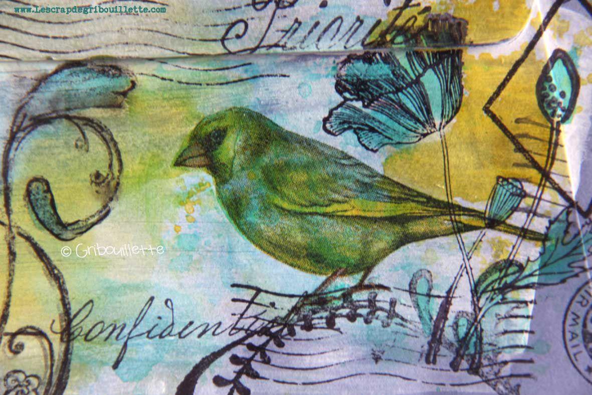 Mail Art_Oiseau