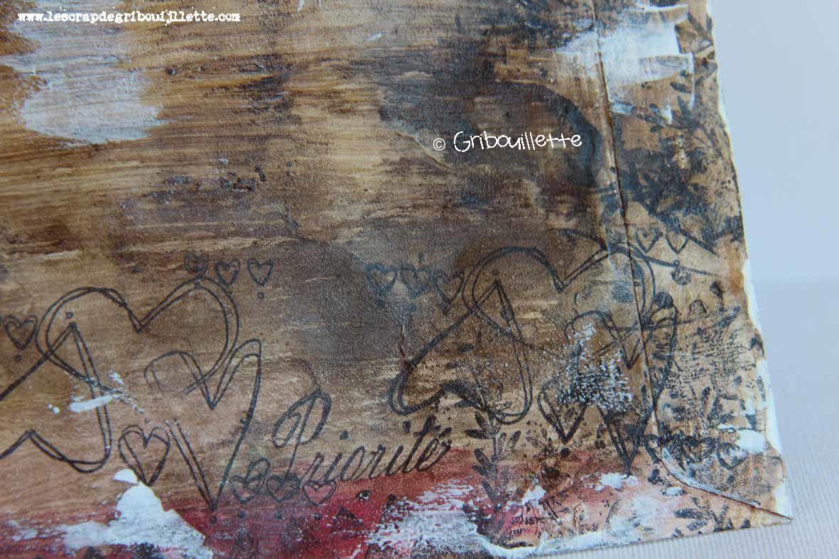 Mail Art_Les oiseaux de couleurs_Verso