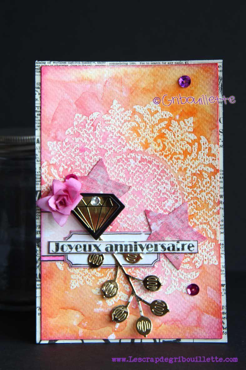 """Carte """"Or & Diamant"""""""