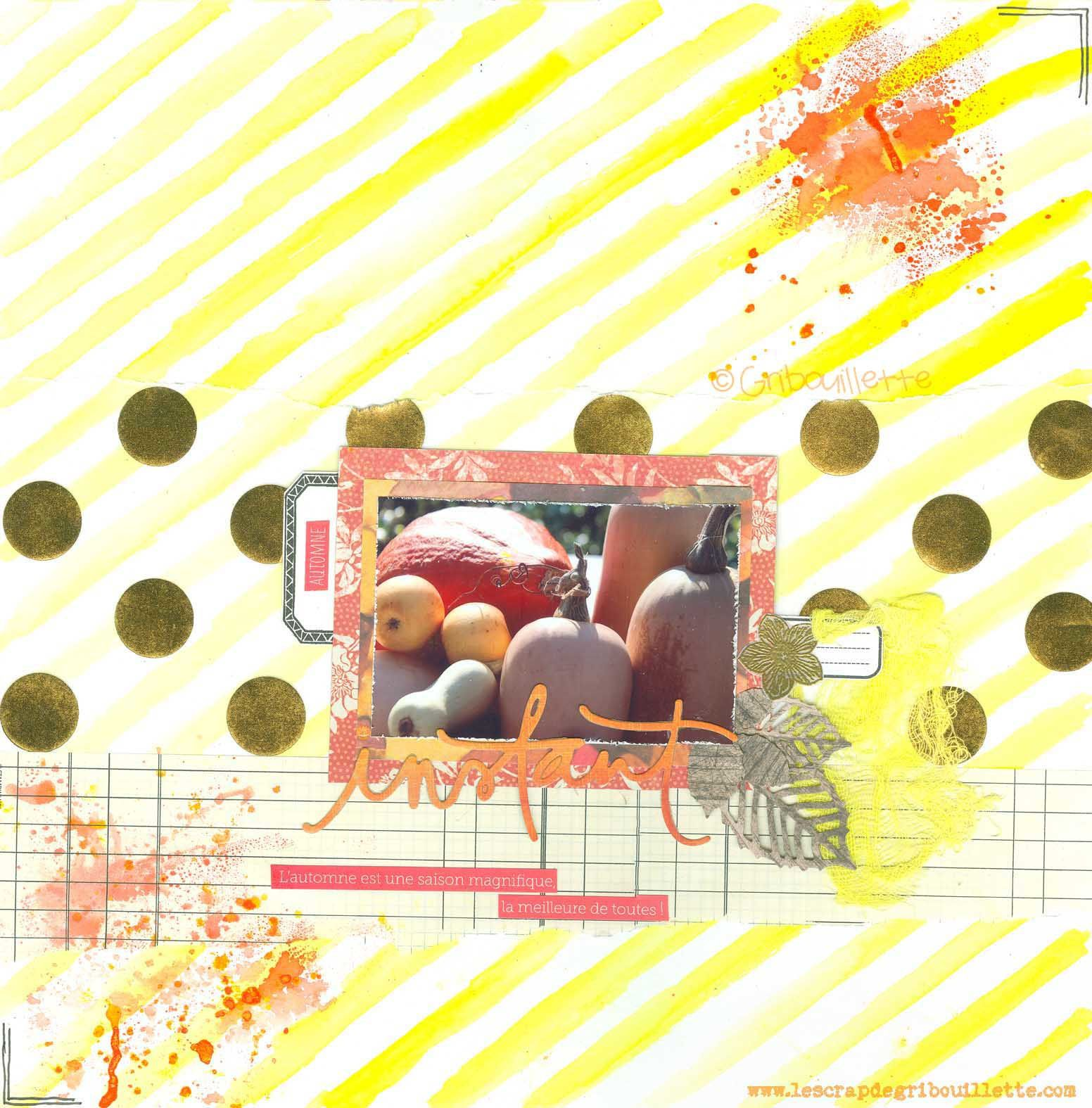 Instant d'automne_Défi inspiration de Scrap&Co