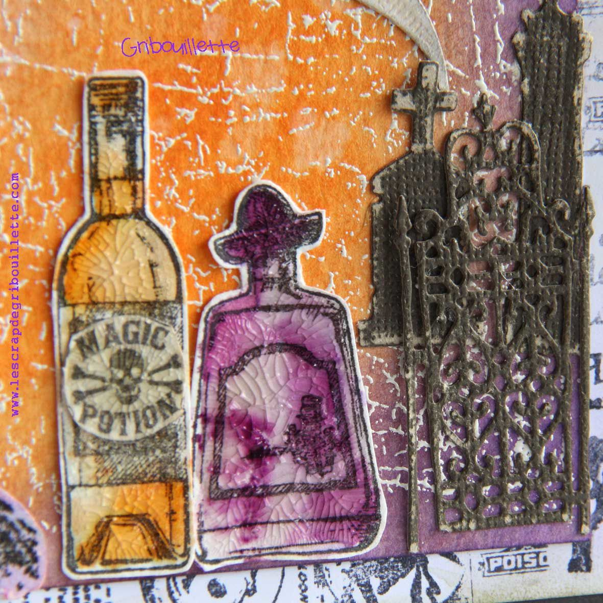 Tableau Mixed Media_Potion Magic