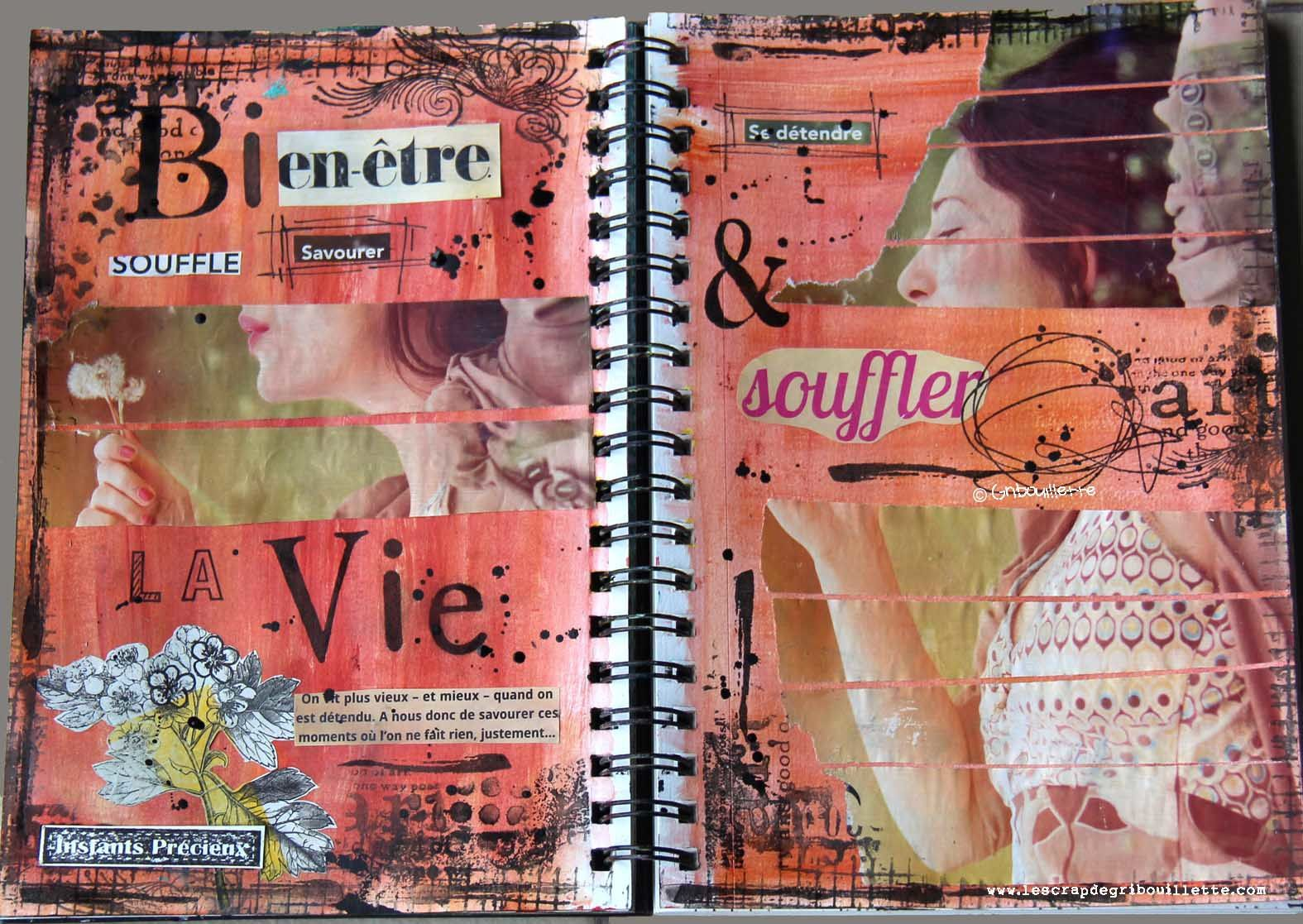 "Art Journal_""Page Femme"""